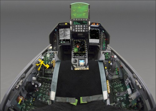 Cockpit Image Inside F 16 Block 60 Fighting Falcon