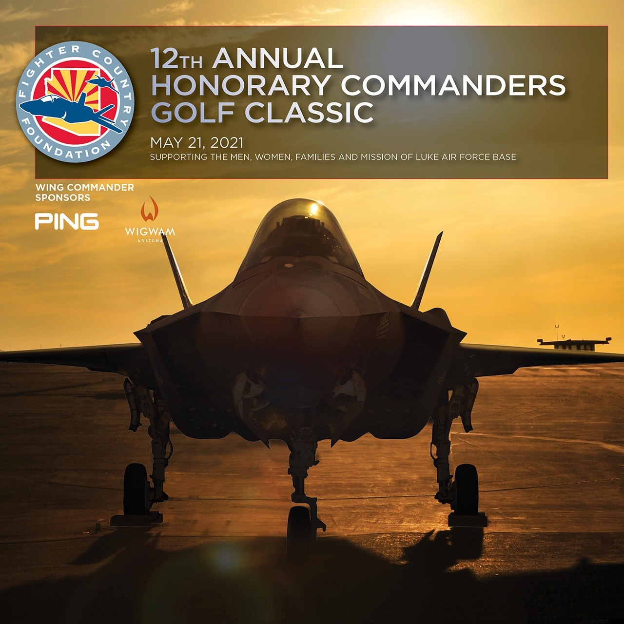 2021 Fighter Country Golf Classic ad